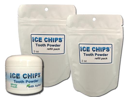 Tooth Powder w/ 2 Refill
