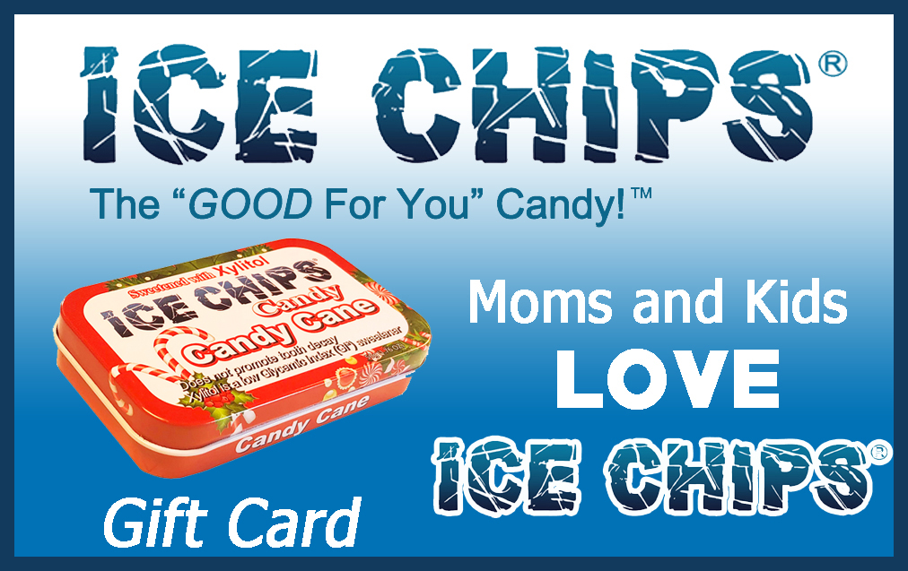 ICE CHIPS Candy Gift Cards