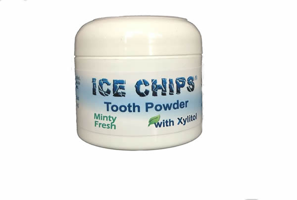ICE CHIPS Whitening Tooth Powder