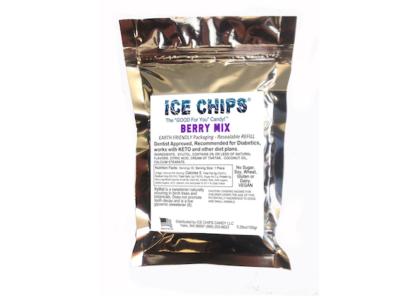 ICE CHIPS® Berry Mix Xylitol Candy