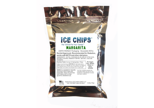 ICE CHIPS® Margarita Xylitol Candy