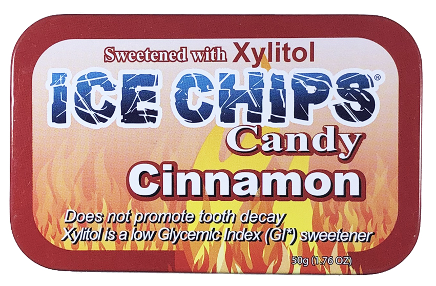 ICE CHIPS® Cinnamon Xylitol Candy
