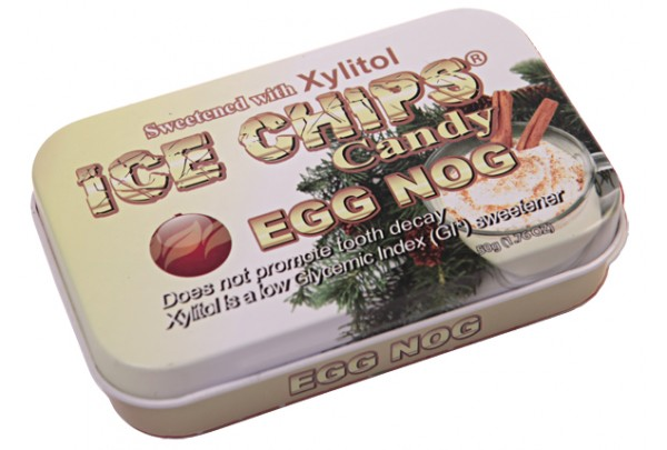 ICE CHIPS® Egg Nog Xylitol Candy