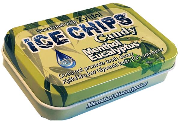 ICE CHIPS® Menthol Eucalyptus Xylitol Candy