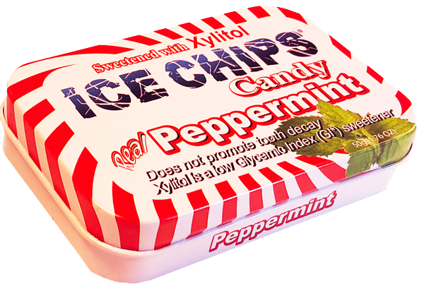 ICE CHIPS® Peppermint Xylitol Mints