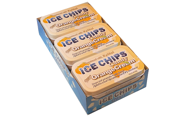 ICE CHIPS® Orange Cream Xylitol Candy