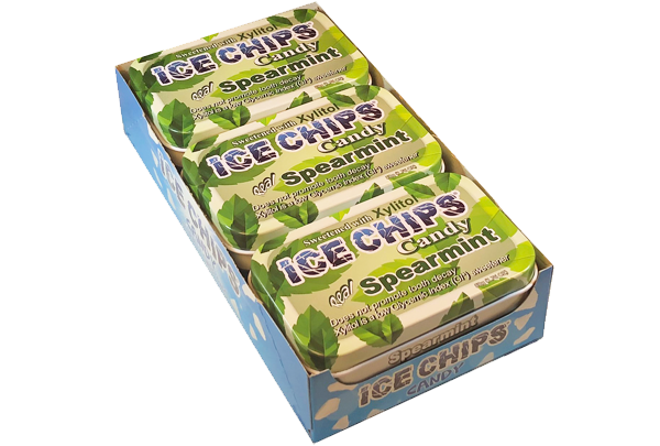 ICE CHIPS® Spearmint Xylitol Mints