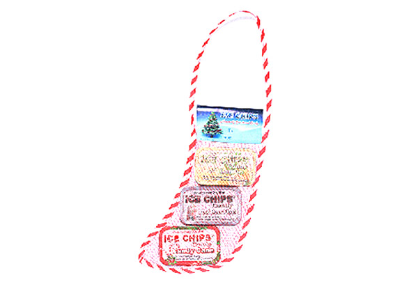 ICE CHIPS® Christmas Stockings 3-Pack